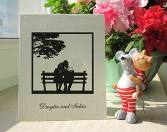 Anniversary card for husband etsy hk