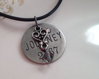 Journey Charm Necklace - Assemblage Necklace -