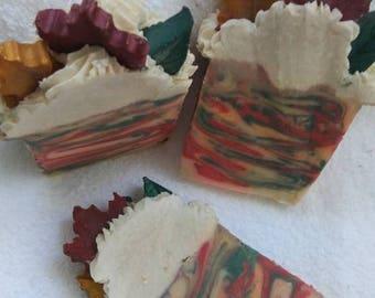 Handmade Artisan Soap Fallen Leaves