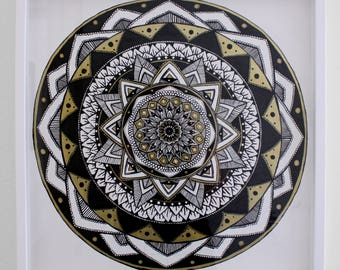 Reign Mandala Original Artwork