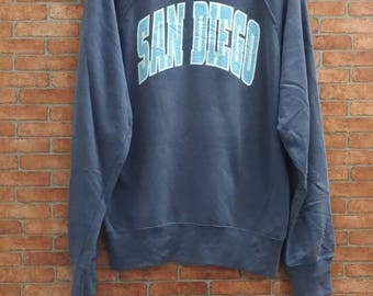 Rare!! San Diego Sweatshirt Large Size