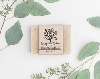 Honey Oatmeal All Natural Handcrafted Soap