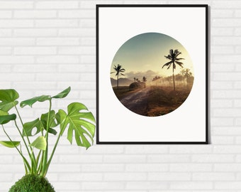 Printable Palm Photo, Palm Trees Print, Tropical Wall Art, Printable Wall Art, Palm Photography, Tropical Art Print, Digital Print