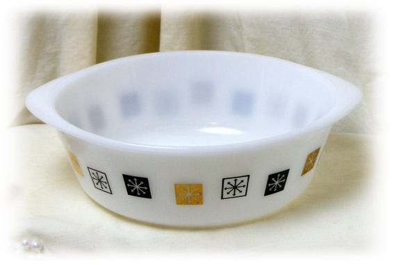 Glass Bowl by Inland Glass (1960's)