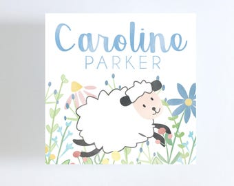 Baa Baa Black Sheep Gift Tag or Calling Card