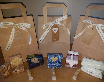 Gift bags for any occasion.A minimum of 5 items included in each gift bag.