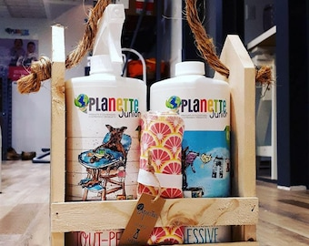 Gift set products,all purpose,floor soap,natural cleaner, planette, Marseille soap,green product,ecofriendly product
