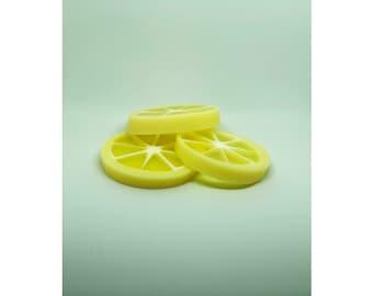 Handmade lemon Soap x 3