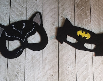 Bat, Cat, Woman and Man Masks, Comic books, Comics, Mask, Superhero, Hero, Villian, Anti-Hero