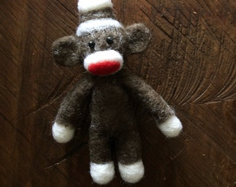 Felted Sock Monkey