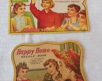 Needle Books, Sewing Susan and Happy Home