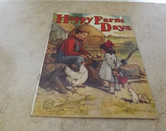 Happy Farm Days Saalfield Publishing