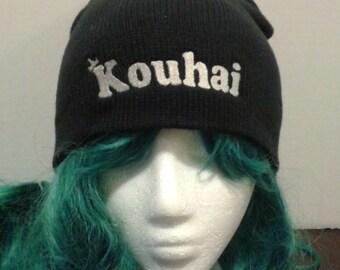 Anime and manga inspired KOUHAI beanie skull cap