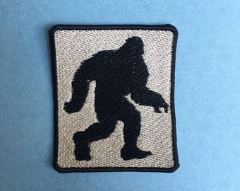 Bigfoot Iron-on Patch