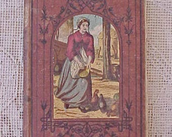 "Very Old and Charming 1873 Victorian Book: ""Sybil's Sacrafice""-Stories for Children"