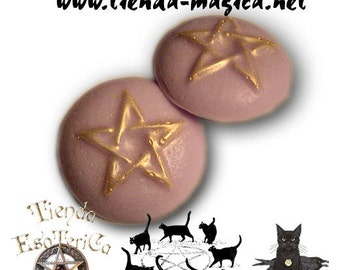 Soap Wicca pentagram, Soap, Wicca, Pagan, magic/SOAP Staff Wicca, soap, Wicca, Pagan, magic