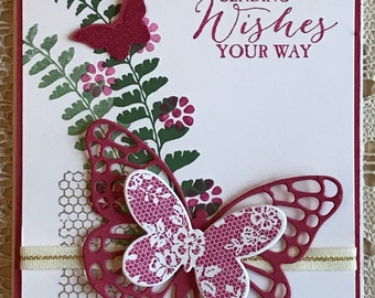 Butterfly Card - Sending Wishes Your Way