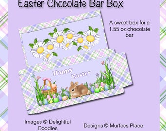 E77-Easter Chocolate Box-Digital Download
