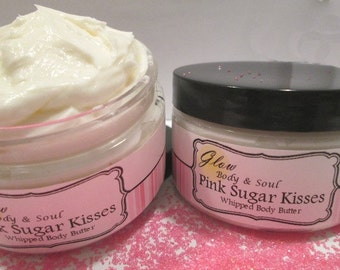 Pink Sugar Kisses Body Butter Paraben Free Body Butter