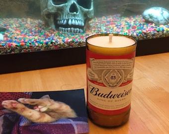 Budweiser, Beer bottle candle