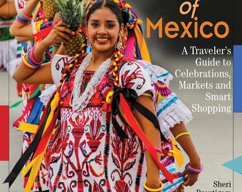 Award winning Guide book for Mexican Textiles  - Textile Fiestas of Mexico - signed by author - covers Oaxaca Chiapas Puebla Michoacan