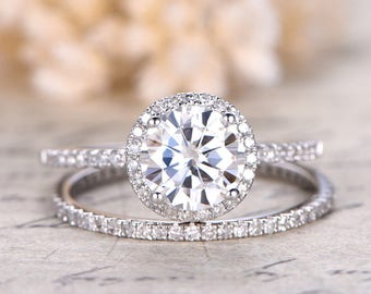 diamond jewellery white petite sets vine twisted brilliant gold earth bridal ring wedding set