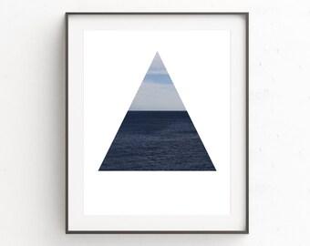 Ocean Photography, Ocean Decor, Ocean Wall Print, Beach House Wall Print, Sea Art Print, Photo Wall Print, Printable Instant Download