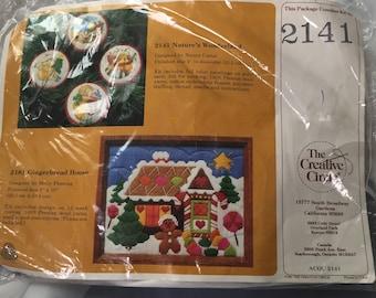 The Creative Circle Nature's Wonderland Christmas Ornament Craft Kit 2141