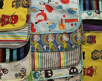Half Dozen Boy Assorted Cloth Wipes