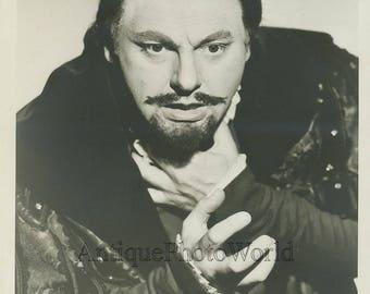 Opera singer Robert Weede in costume antique photo