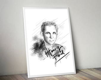 Henry Ford Gliceé Art/Canvas Print [Limited Edition]