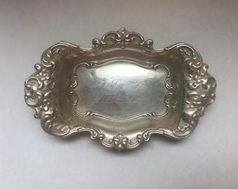 Engraved Sterling Ring Bowl