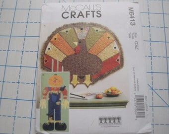 """McCall's Crafts Pattern #M6413 """"Fall Decorations"""""""