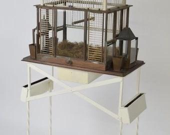 Victorian Wrought Iron Bird Cage