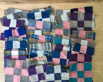1930s-1940s Quilt Squares