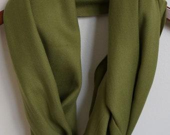 Dark Olive Green Scarf