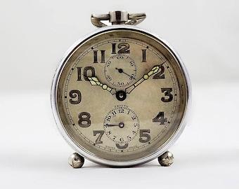 Zenith Swiss Art Deco Alarm Clock