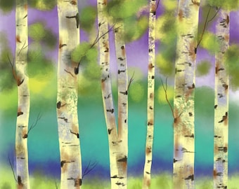 Birch Of A Forest