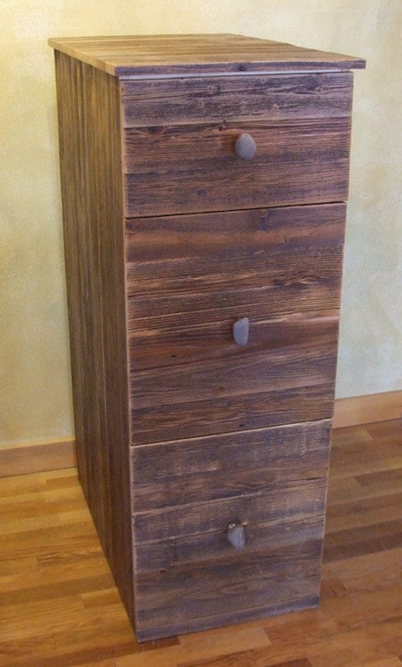 rustic wood file cabinet reclaimed barn wood rustic heritage 3 drawer file cabinet 25777