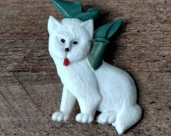 Genuine Vintage C1950s Novelty Brooch - Dog Brooch