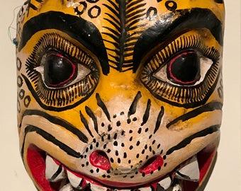 Mexican Folk Art JAGUAR MASK