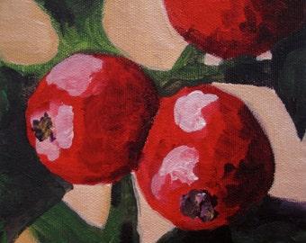 Print: Small Christmas Berries