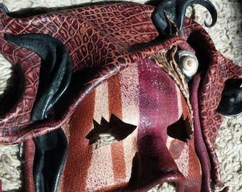 Leather Mask Artwork