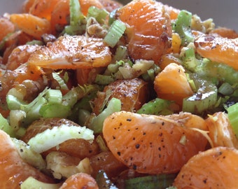 Make your own vegan carrot raisin salad deluxe a tasty raw sicilian orange salad easy veganraw salad that bursts with flavor and texture pdf instant download recipe forumfinder Images
