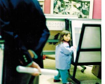 Youngest print shopper in Paris