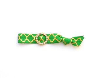 AUDREY II - One Comfort Elastic Hair Tie / Bands / Bracelets / Sparkle / Glitter / Colorful / Yoga / Emi Jay Inspired