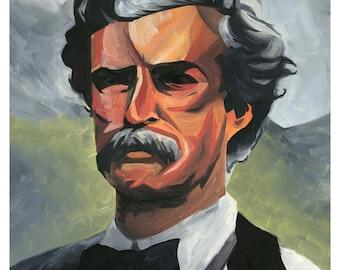 Mark Twain Poster