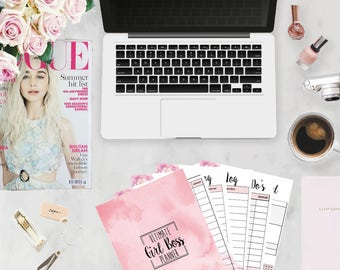Ultimate Girl Boss Planner - Printable Download for Classic Sized Happy Planner