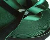 Dark Green Velvet Ribbon ...