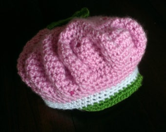 Strawberry Shortcake Inspired Hat